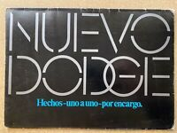1974 Dodge - Made one by one to order original Spanish sales brochure