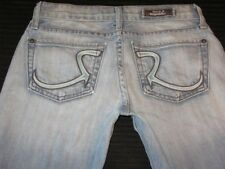 Rock & Republic Jeans Jagger Ultra Low Boot Distressed Sz 24
