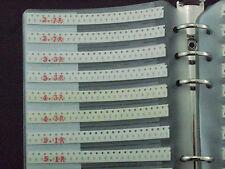 0603 SMD Chip Resistor Assortment Sample Book 177 values X 50pcs assorted folder