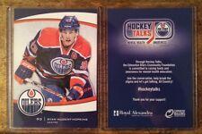 Nugent-Hopkins #93 Mental Health 2014 Edmonton Oilers 1 of 150 Card Hockey Talks