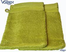 2 Waschhandschuh VOSSEN Asia Energy  misty yellow