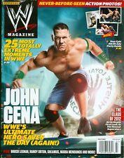 2012 WWE Magazine: John Cena/Brock Lesnar/Randy Orton/Seamus/Meria Menounos