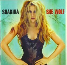 CD - Shakira - She Wolf - A5452 - booklett