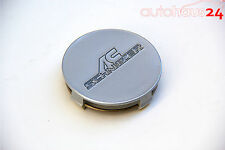BMW AC SCHNITZER SILVER WHEEL CENTER CAP ROUND 75MM FOR TYPE II TYPE III OEM