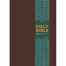 NIV Pocket Brown Imitation Leather Bible by New International Version...