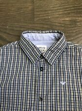 Armani Junior Boy Long Sleeve Cotton Shirt Size 6