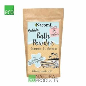 Nacomi Natural Relaxing Bubble Bath Powder Summer in Greece 100g