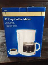 12 Cup Coffee Maker Jc609 New