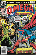 Omega The Unknown Comic Book #3, Marvel Comics 1976 VERY FINE+