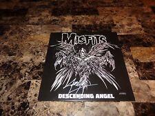 """Misfits Rare Signed Limited Descending Angel 12"""" Vinyl Record Punk Rock Legends"""
