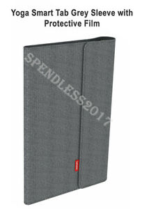 Yoga Smart Tab Grey Sleeve with Protective Film, BRAND NEW