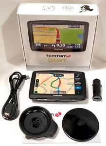 """TomTom START 55 S GPS 5"""" LCD Portable Navigation Set USA/Canada/Mexico Maps"""