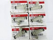 OEM Genuine Fuel Injectors 6PC KIA Amanti Opirus 3.0L 2005-2006 #3531039030
