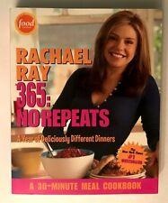Cookbook 235, Rachael Ray 365: No Repeats 30 Minute Meals Chicken Pasta Eggplant