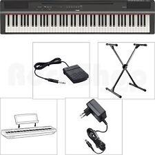 Yamaha P 125 B Digital E-Piano elektronisches Klavier mit X-Stativ + Netzteil