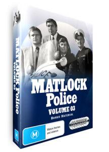 MATLOCK POLICE - VOLUME 3 - DVD SET - BRAND NEW AND SEALED