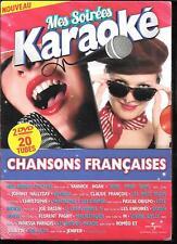 COFFRET 2 DVD ZONE 2--MES SOIREES KARAOKE - CHANSONS FRANCAISES VOL.3 & 4