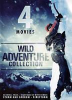 4 Movie Wild Adventure Collection (DVD, 2015)