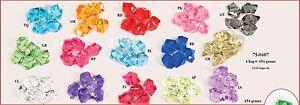 Acrylic Plastic Rock Diamond Cube Star Decor Vase Filler Table Scatter Wedding