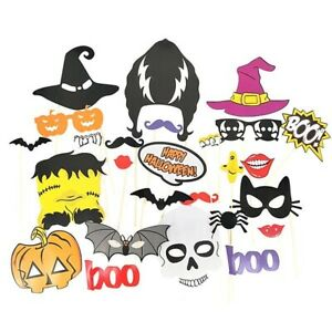 Ready Made Spooky Halloween Character Props On Sticks Fun Party Props