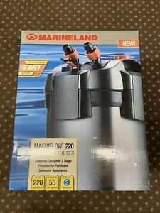Marineland Magniflow Canister 220 for Aquarium Up to 55 Gal NEW  FREE SHIPPING