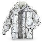 Huntworth Snow Camo Microfiber Shell Jacket Waterproof