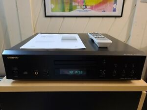 ONKYO DX-7555 Compact Disc CD Player W/ Remote TESTED / WORKS