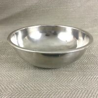Antique Silver Plated Bowl Plain Simple Nagel Silver Plate German Circa 1900s