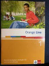 Orange Line 1: 5. Kla. Standardaufgaben mit Audio-CD + Lehrersoftware KLAUSUREN