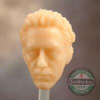 "ML230 Custom Sculpt Cast Tony Stark head use w/6"" Marvel Legends"