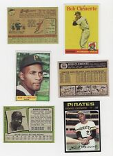LOT #1 REPRINTS THE GREAT ONE ROBERTO BOB CLEMENTE PIRATES 1958 1961  1971
