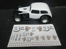 #3K Mousy Kempster Modified 1/25th scale Die-Cast donor kit