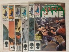 The Sword Of Solomon Kane 1-6 (1985) ~ Complete Marvel Comic Set ~ VF/NM
