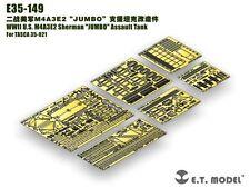 """ET Model 1/35 #E35149 M4A3E2 Sherman """"JUMBO"""" Detail Up Set for Asuka 35021"""