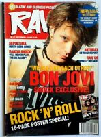 Raw 131 September 1993 March (Many Metal Hammer & Kerrang mags also listed)