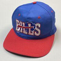 Vintage Buffalo Bills New Era Cap, Embroidered 1990's SnapBack NFL Football Hat