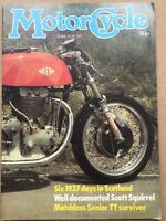The Classic Motorcycle Magazine - Apr / May 1982 - Model 18 AJS, Matchless TT