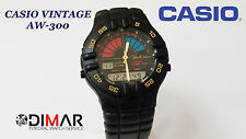 CASIO VINTAGE AW-300 YACHT TIMER QW.389 JAPAN AÑO 1990 DIAL GRIS