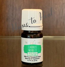 YOUNG LIVING ESSENTIAL OILS * Laurus Nobilis * (Bay Leaf) NEW SEALED 5ml