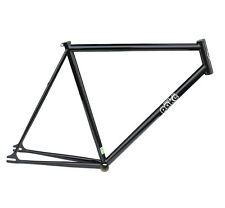 Pake Rum Runner Steel Track Bike Fixed GEar Frame 51cm Black