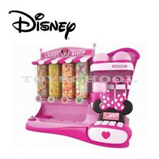 New Disney Minnie Mouse Candy Shop Pretend Toy w Bills and Coins Playset 5+