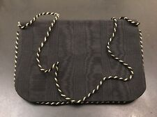 Guy Laroche Evening Bag Shoulder Bag Clutch Handbag Paris France Vintage Black