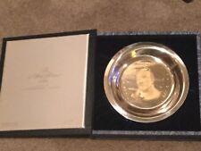 Rare Pres Millard Fillmore Sterling Silver Plate *Ltd Ed w/24kt Gold Inlay