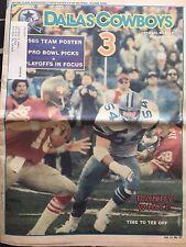 """"""" NFL Dallas Cowboys Official Weekly Magazine December,21, 1985; Vol. 11, No.27"""