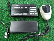 Motorola Spectra VHF UHF 800Mhz A9 control head HCN1063B w/ DEK  HLN1241C #B