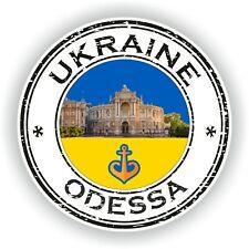 Seal Sticker of Ukraine Odessa Stamp Bumper Roundel Truck Laptop Car