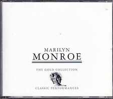 2 CD 35T MARILYN MONROE THE GOLD COLLECTION BEST OF 1997 FATBOX (2 Gold CDs)