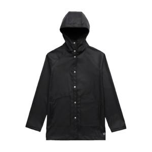 Herschel Classic Rainwear Jacket Women's Black White Sportswear Outwear Top