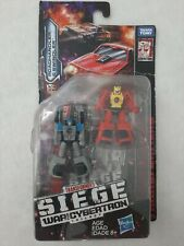 Transformers Siege WFC War For Cybertron Micromaster set of 4 NEW