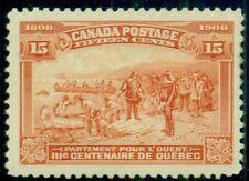 CANADA #102 15¢ red orange, og, NH, VF, Scott $550.00